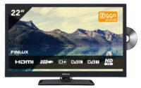 Finlux LED TV FLD2222 12V incl. Glomex TV antenne VT300